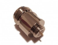 N type Bulkhead Jack ( Socket ) Mounted  Connector 50ohm