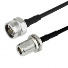 N male to N female RG58 C/U  Cable Assembly