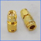 SMA Plug Clamp Connector for  RG223  RG142
