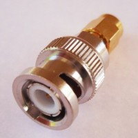 SMA plug male to BNC Plug male connector adapter 50ohm