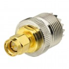 UHF SO239 Socket  to SMA male Adapter 50ohm