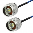 "N male to N male RG405 Habia 0.086"" Semi Flexiform Cable"