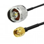N male to SMA male LMR100  Coaxial  Cable  RoHS