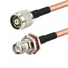 RP-TNC male to RP-TNC female RG142 Mil Spec Coaxial Cable