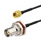 BNC female to SMA male LMR100  Coaxial  Cable  RoHS