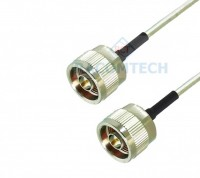 18GHz N male to N male RG402 Semi Flexible Cable