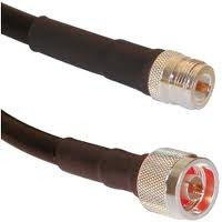 N male to N female LMR400 Times Microwave Cable RoHS